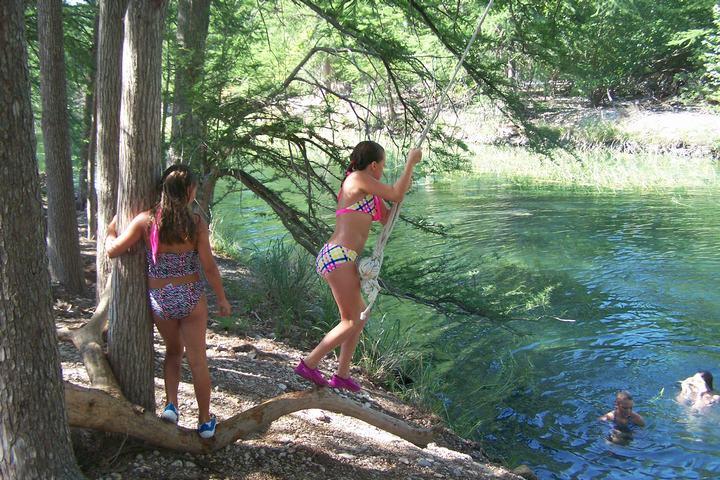 Frio River Rope Swing