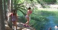 Frio River Rope Swing